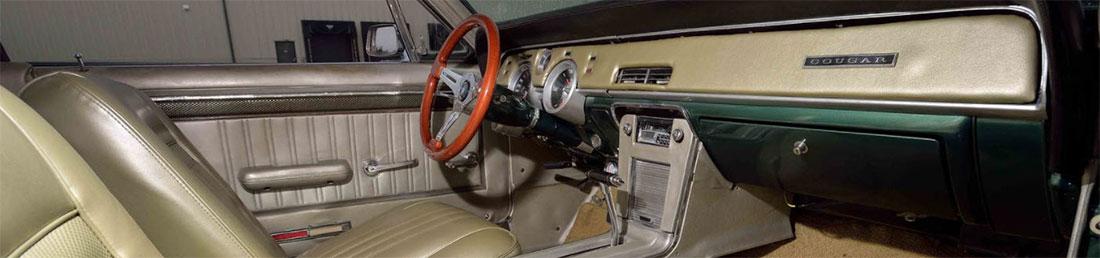 1967 Mercury Cougar GT Interior