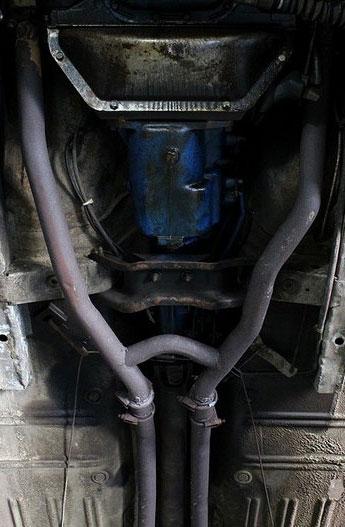 1967 Mercury Cougar GT Exhaust