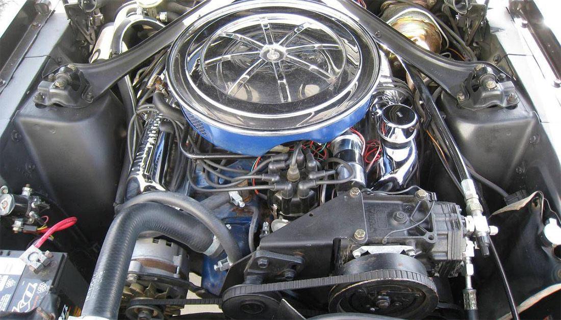 1967 Mercury Cougar GT Engine