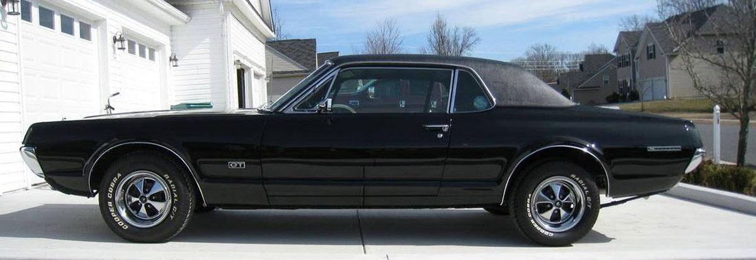 1967 Onyx Mercury Cougar GT