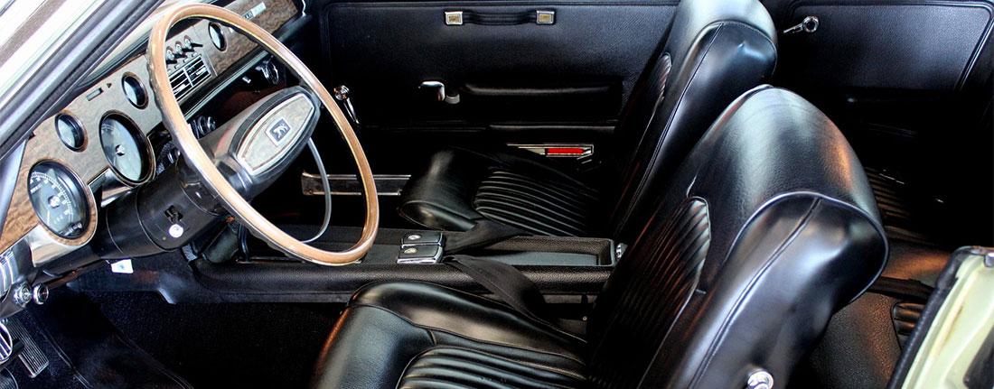 1968 Mercury Cougar 6.5 Litre Interior