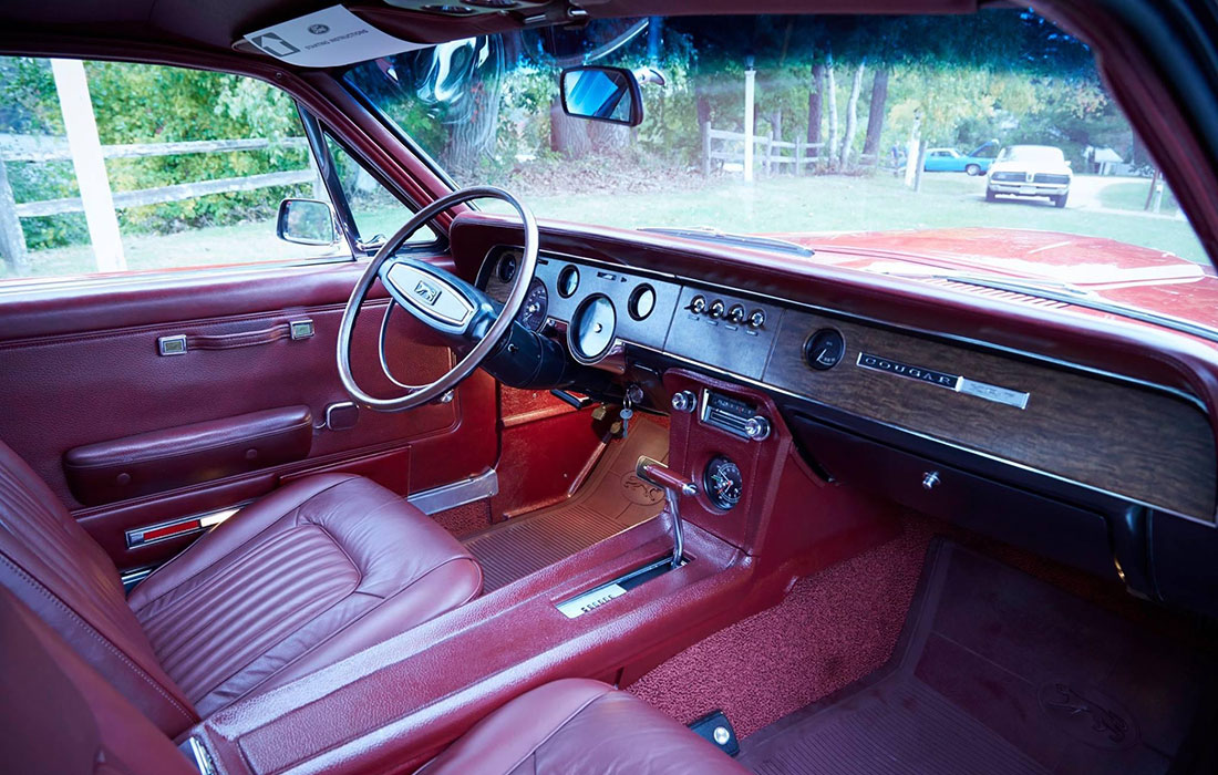 1968 Mercury Cougar GT-E Interior