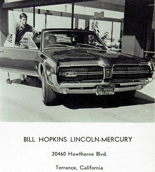 1968 Mercury Cougar GT-E Ad