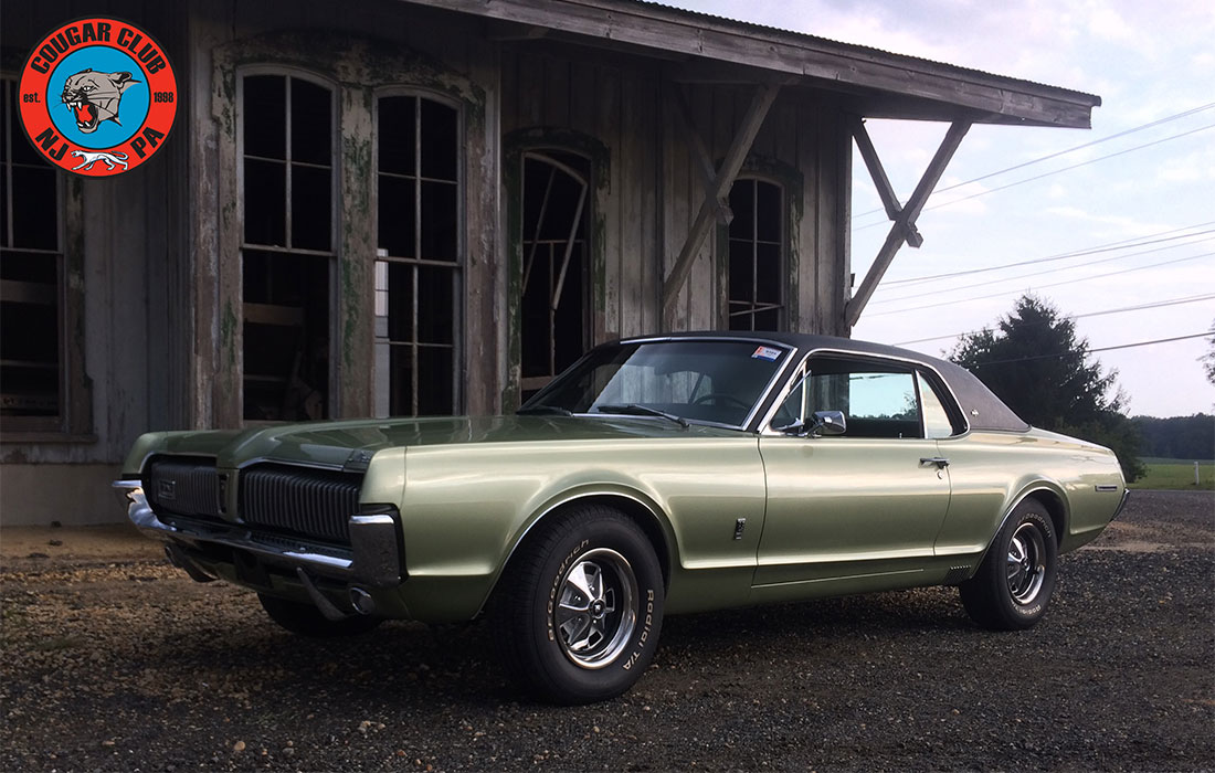 1968 Lime Frost Poly. Mercury Cougar 6.5-Litre