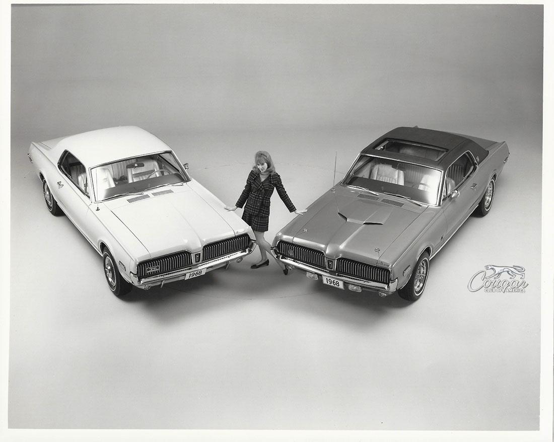 1968 Mercury Cougar XR7-G Promo Image