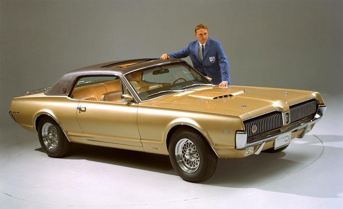 Dan Gurney & 1968 Mercury Cougar XR7-G