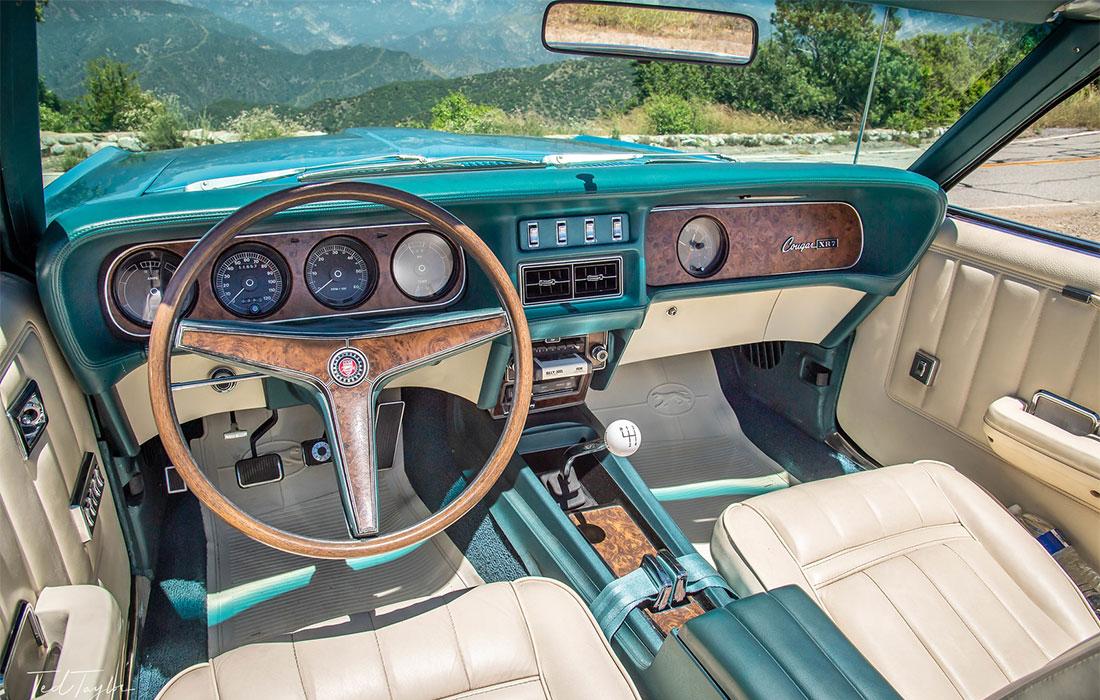 1969 Mercury Cougar 390 S-Code Interior