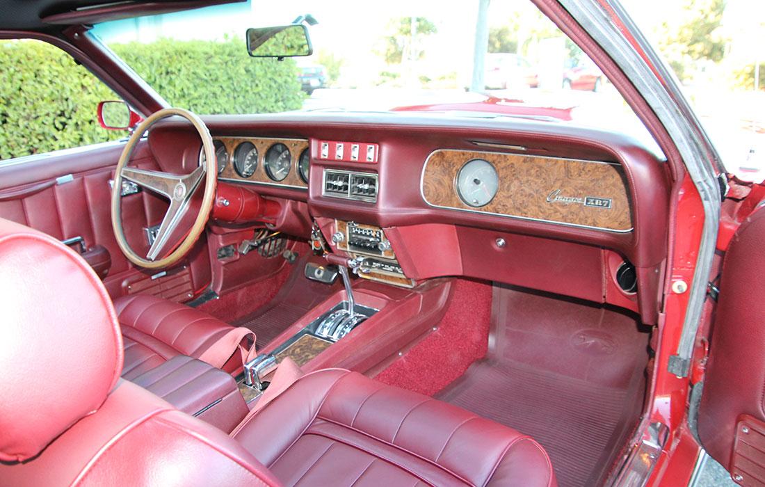 1969 Mercury Cougar XR-7 428CJ Interior