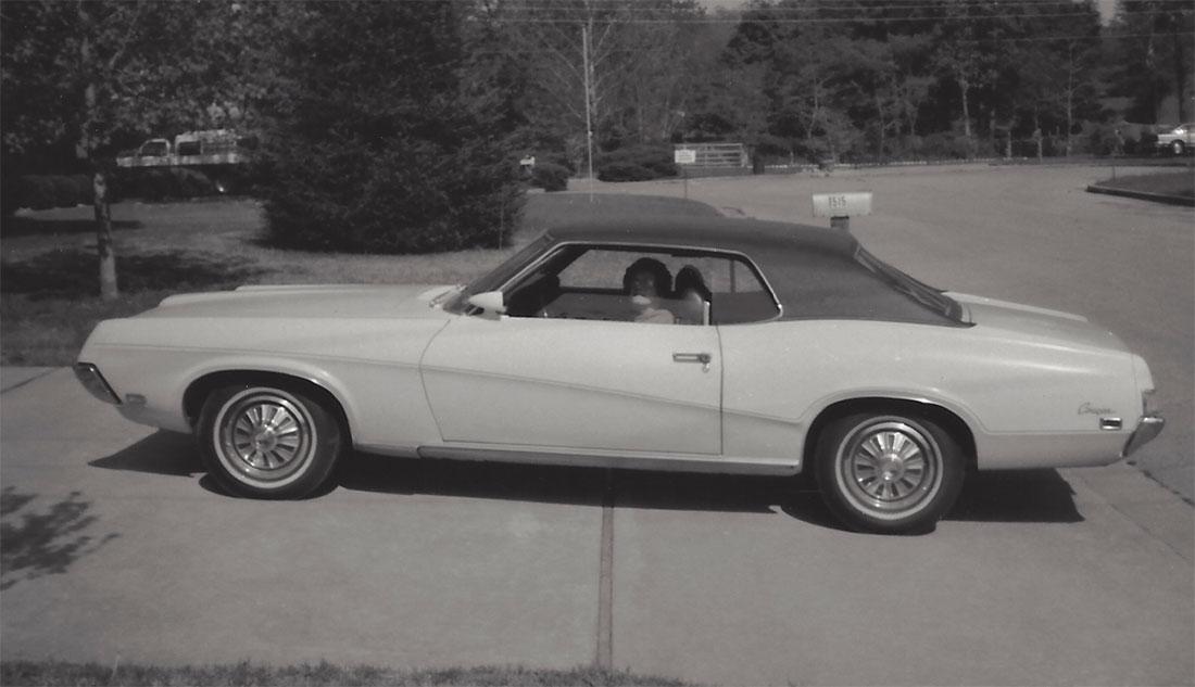 1969 Mercury Cougar Sports Special