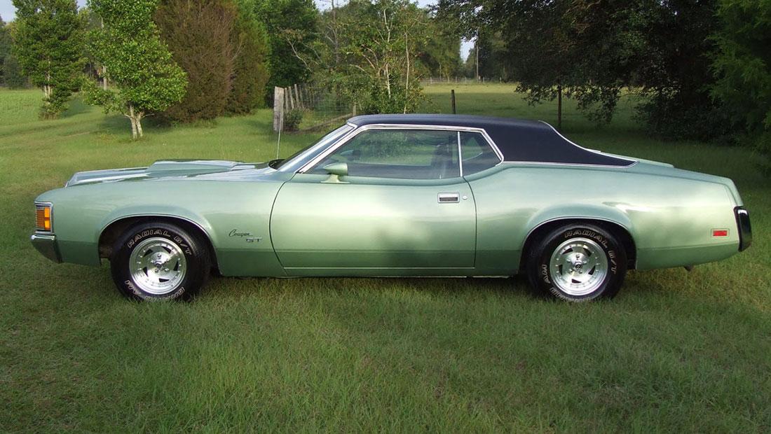 1971 Medium Green Mercury Cougar GT
