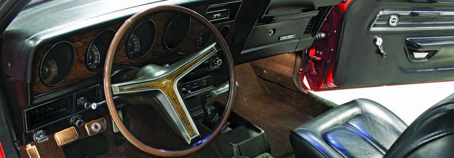 1971 Mercury Cougar GT Interior