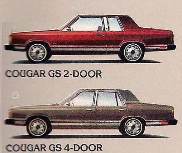 1982 Mercury Cougar GS