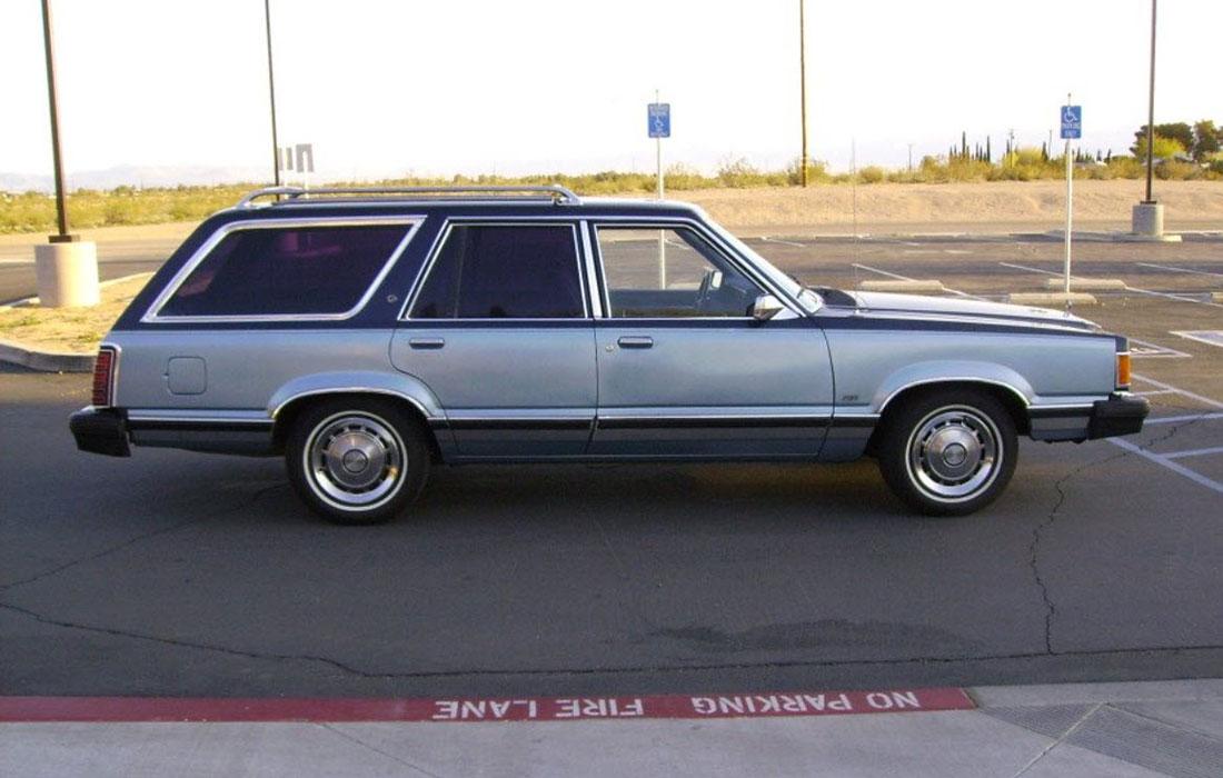 1982 Mercury Cougar Wagon GS