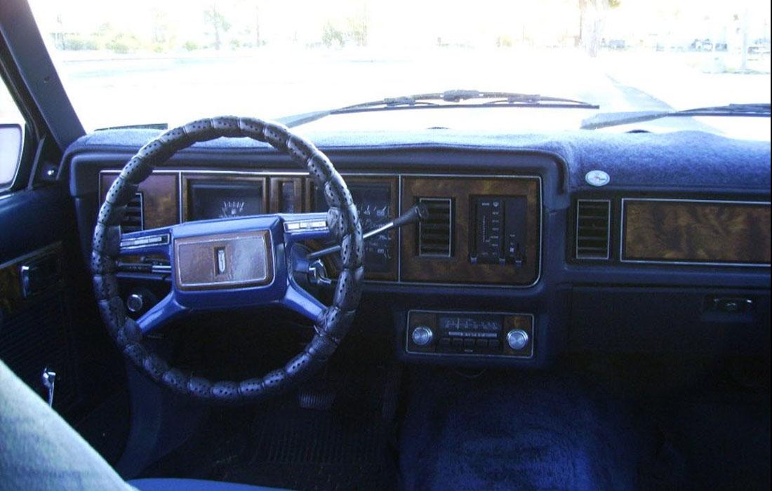 1982 Mercury Cougar Wagon GS Dashboard