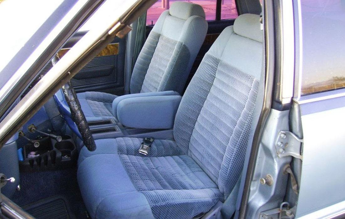 1982 Mercury Cougar Wagon GS Interior