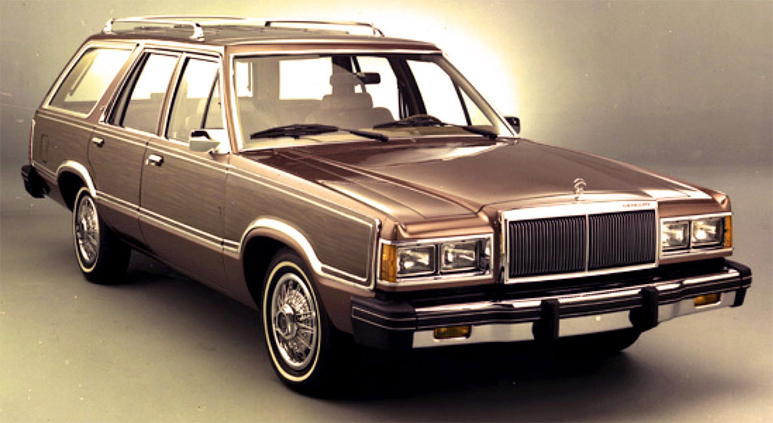 1982 Mercury Cougar Wagon Villager