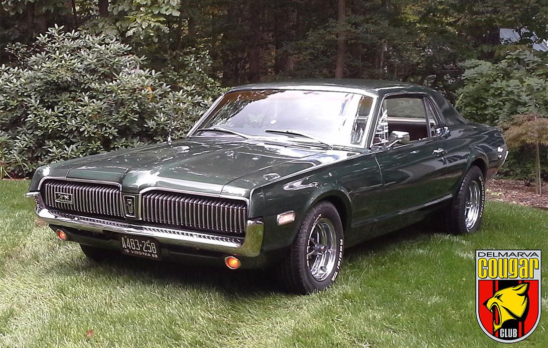 #2975 David Ayers 1968 Mercury Cougar