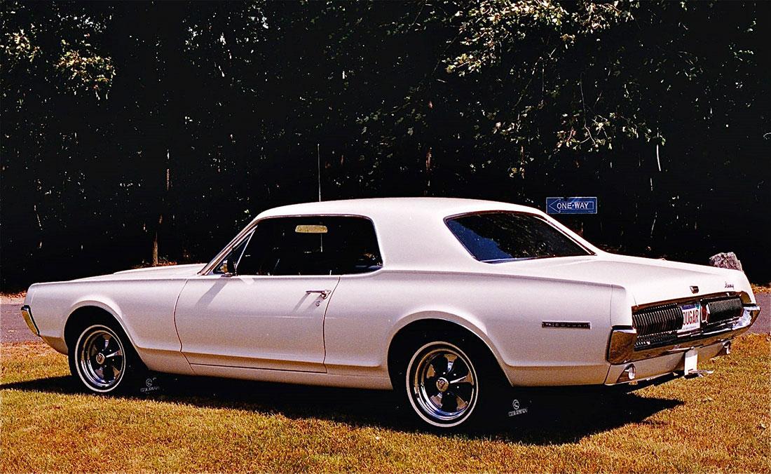 #5949 Richard Klepach 1967 Mercury Cougar
