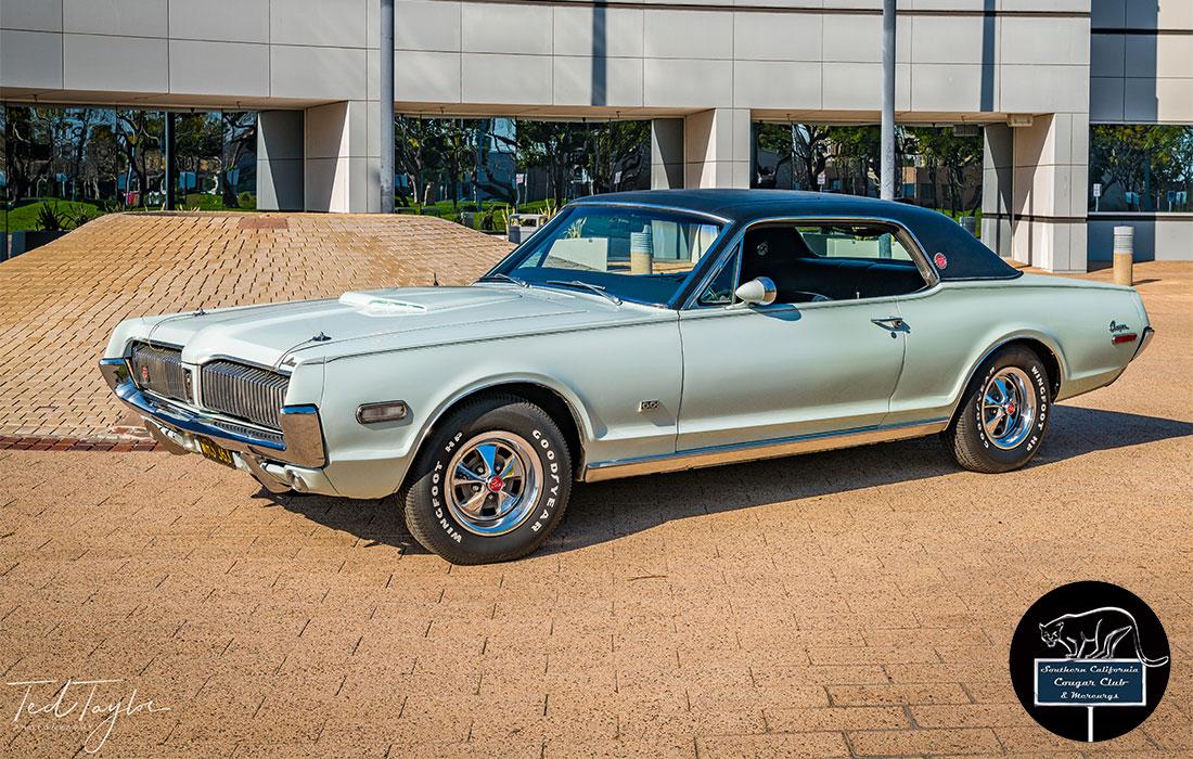 #6669 Mike Brown 1968 Mercury Cougar XR7-G Hertz