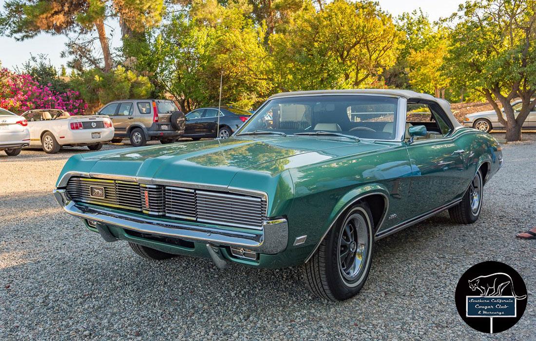 #6669 Mike Brown 1969 Mercury Cougar 390 Convertible