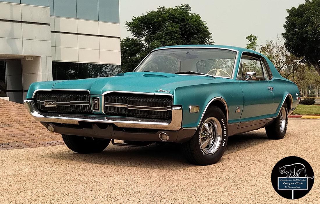 #6669 Mike Brown 1968 Mercury Cougar GT-E