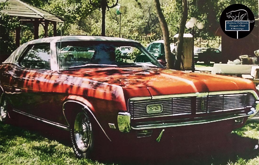 #6669 Mike Brown 1969 Mercury Cougar XR-7