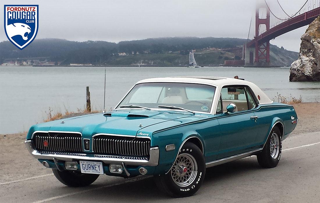 #6764 Scott Ferguson 1968 Mercury Cougar XR7-G