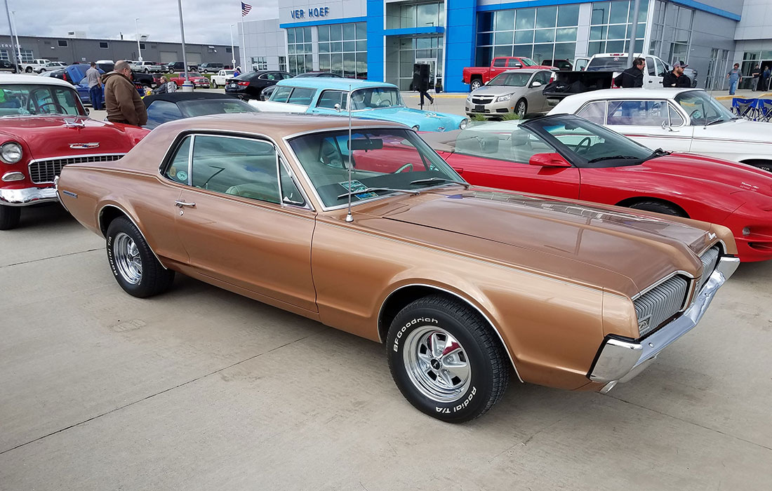 #7391 Mark Kinrade 1967 Mercury Cougar