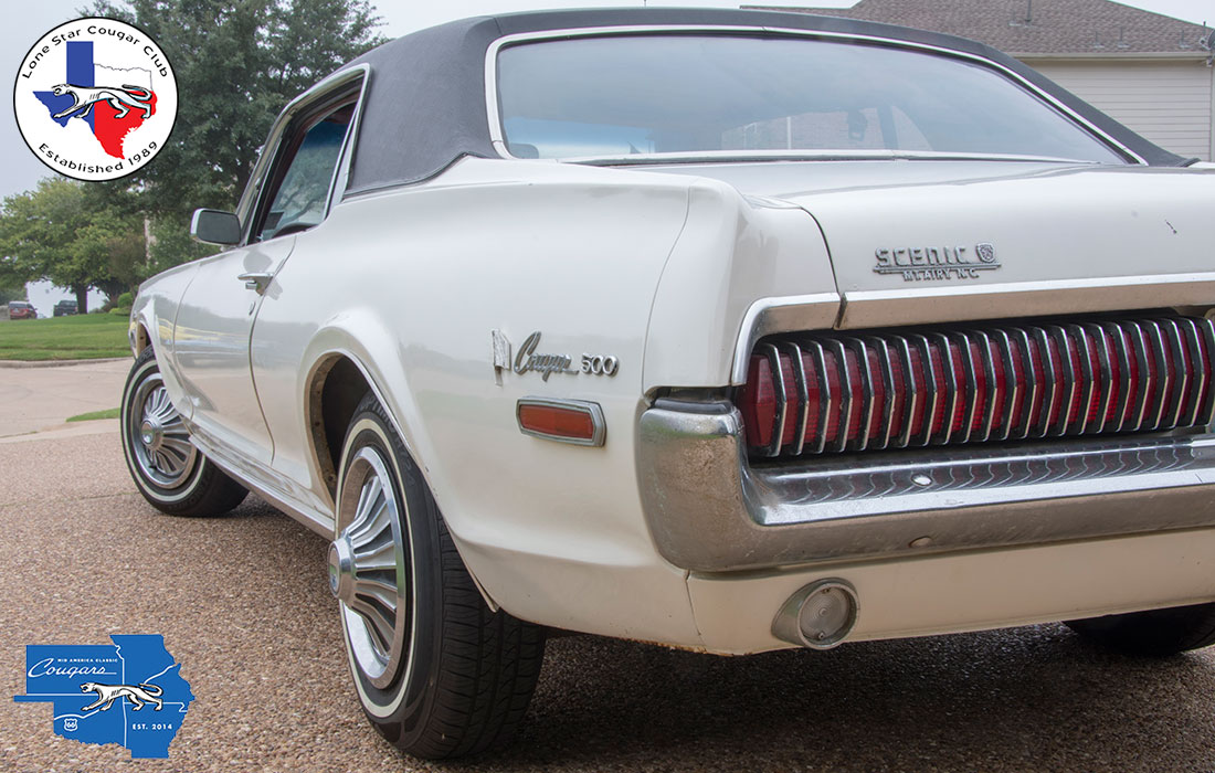 #7402 Chuck Donaldson 1968 Mercury Cougar 500
