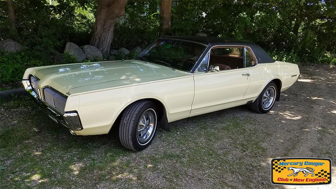 #7639 Daniel Goldsmith 1967 Mercury Cougar XR-7