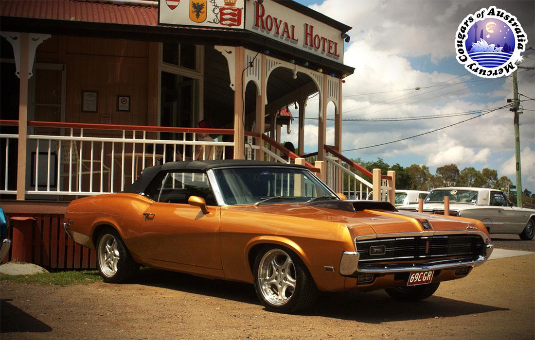 #7915 Leon Bray 1969 Mercury Cougar Convertible