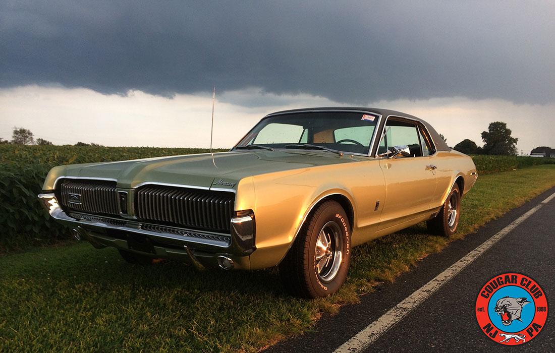 #8197 Paul Byrnes 1967 Mercury Cougar 6.5 Litre