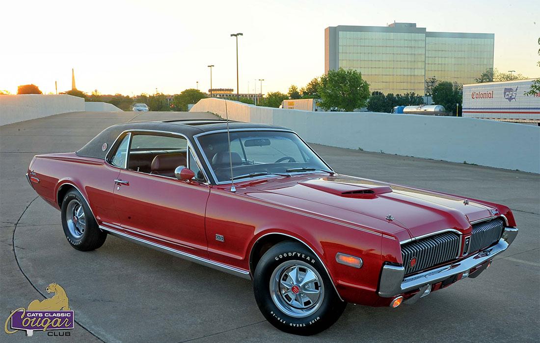 #8301 Brian Carpenter 1968 Mercury Cougar XR7-G