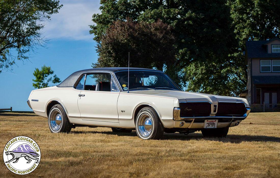 #9063 Don Skinner 1967 Mercury Cougar GT