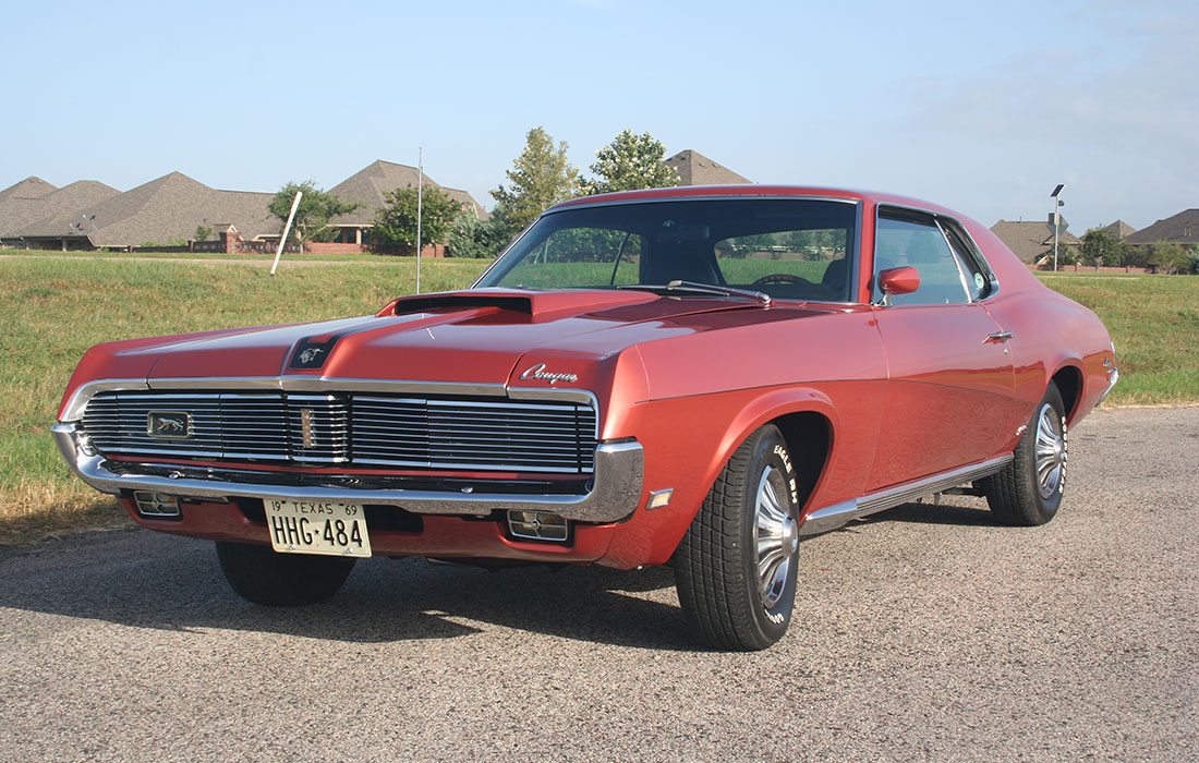 #9144 Galen Coupe 1969 Mercury Cougars Sport Special