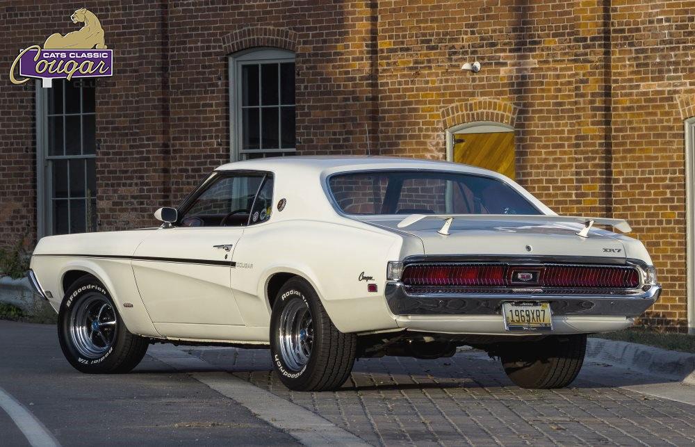 #9361 Gary Hill 1969 Mercury Cougar XR-7