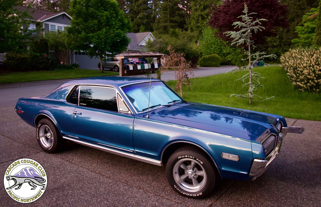 #9650 Steve Ellis 1968 Mercury Cougar XR-7