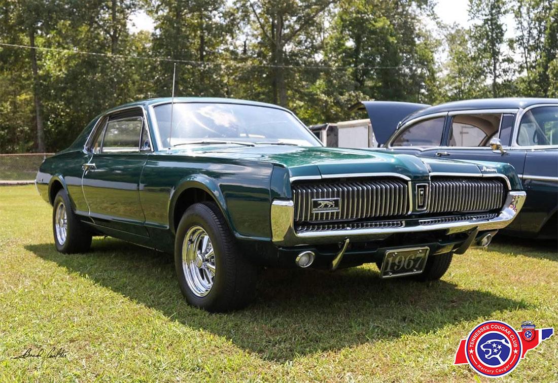 #9856 Scott Brooks 1967 Mercury Cougar 289-4V