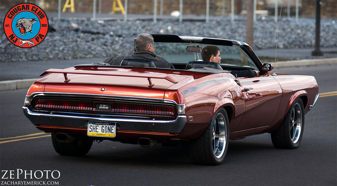 #9953 Dan Mohry 1969 Mercury Cougar Convertible