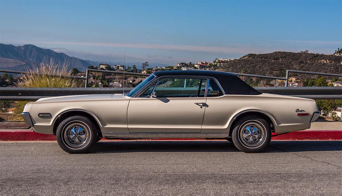 1968 Mercury Cougar Dan Gurney Special