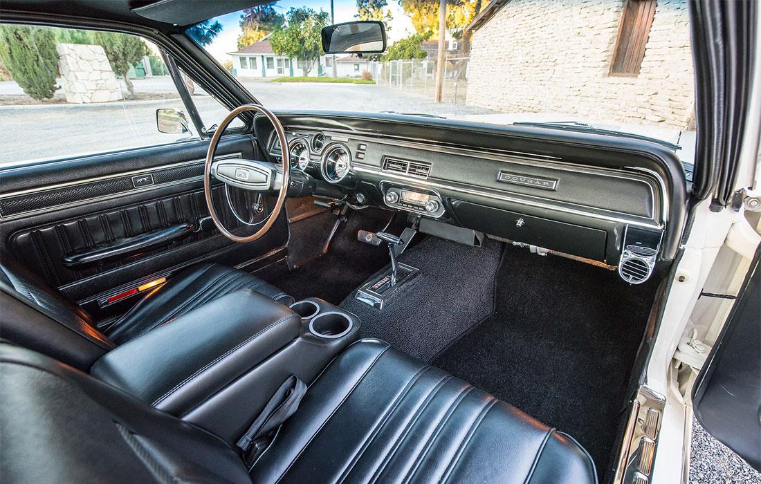 1968 Mercury Cougar Dan Gurney Special Interior