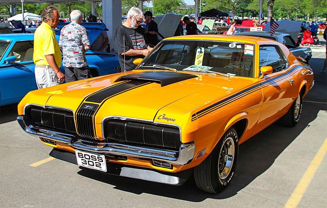 1970 Completion Gold Mercury Cougar Eliminator