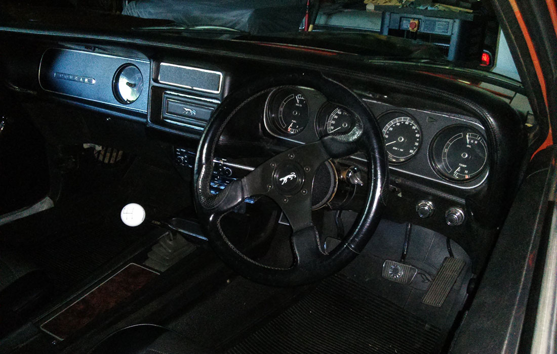 Australian 1970 Mercury Cougar Eliminator Interior