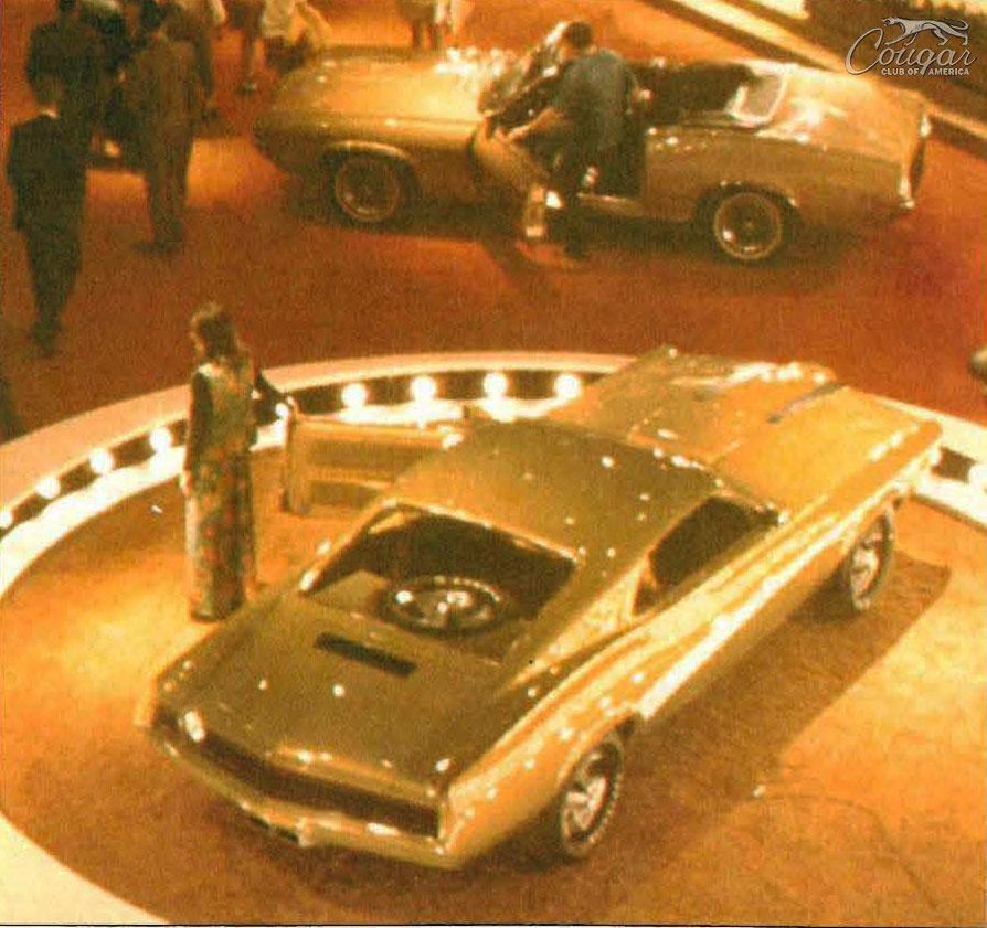 1970 Mercury Cougar El Gato Show