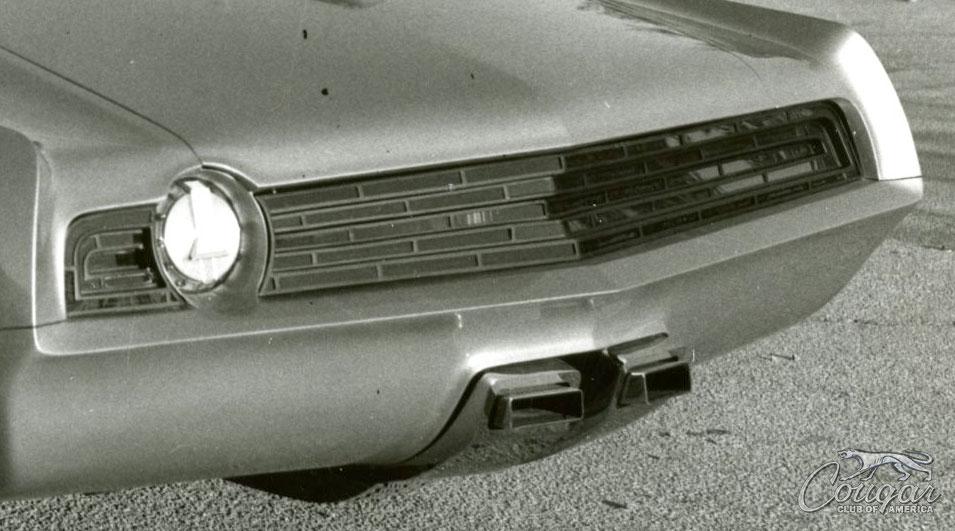 1970 Mercury Cougar El Gato Taillight