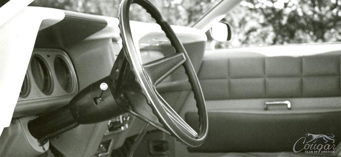 1970 Mercury Cougar El Gato Dashboard