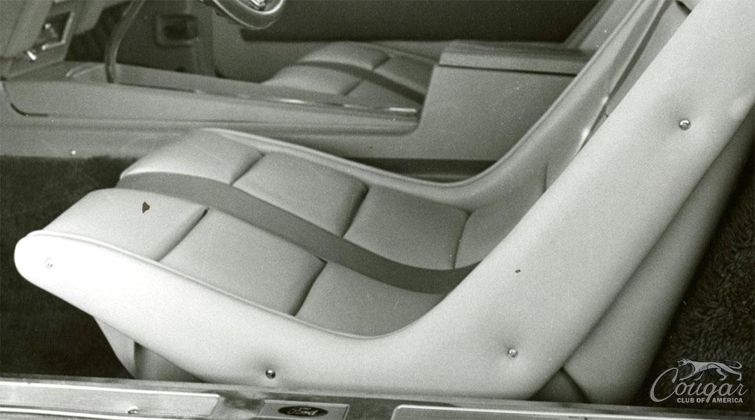 1970 Mercury Cougar El Gato Seat
