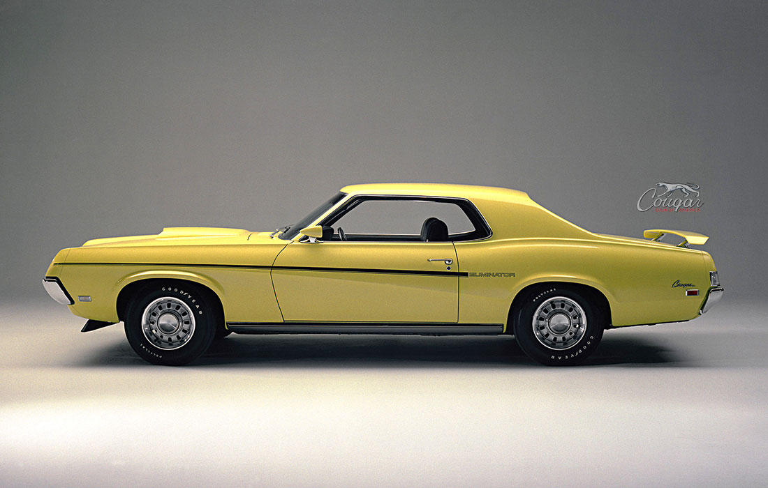 Original Ford Marketing Photo 1969 Mercury Cougar Eliminator