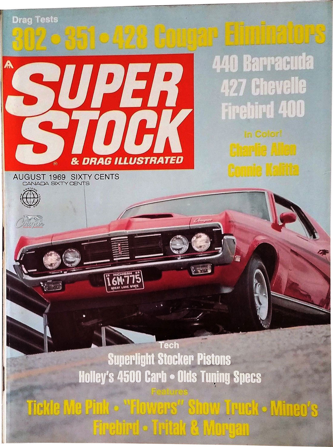 Super Stock and Drag August 1969