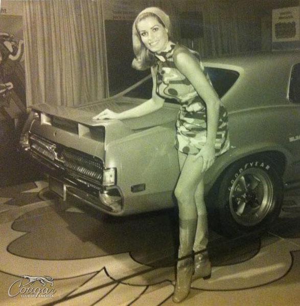 1969 Mercury Cougar Eliminator Prototype